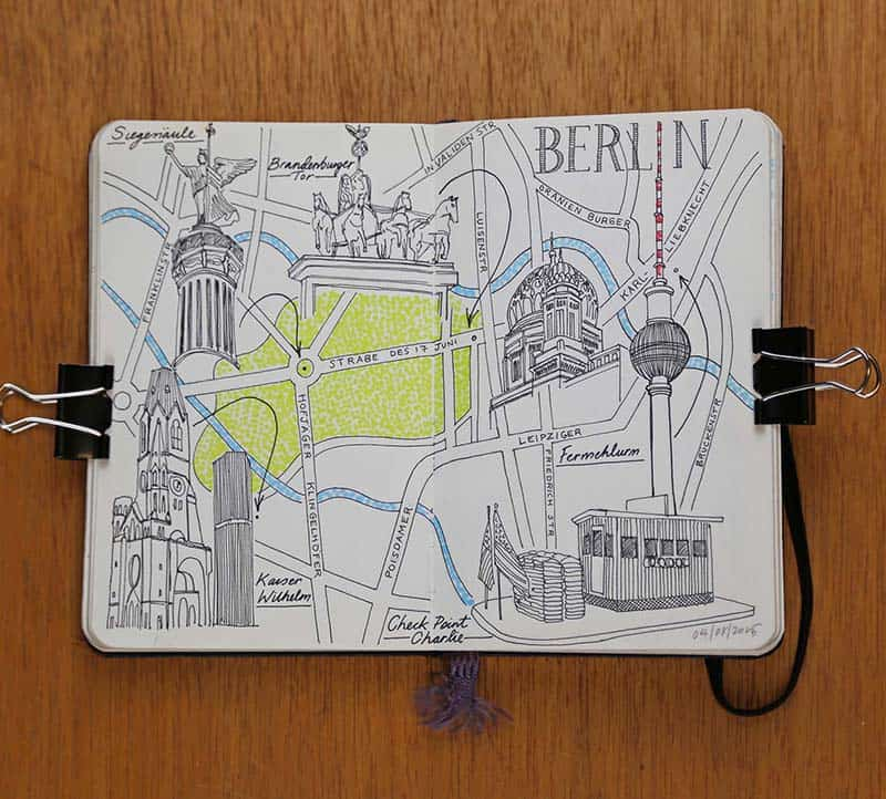Berlin Art Week Photo Travel Journal 09 Belin September 2015 illustration Jitesh Patel